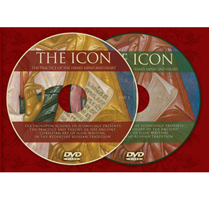 DVD.  THE ICON.  The Practice of the hand,mind and heart.  [872]