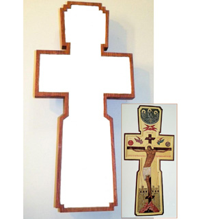 Gessoed Cross (2012)